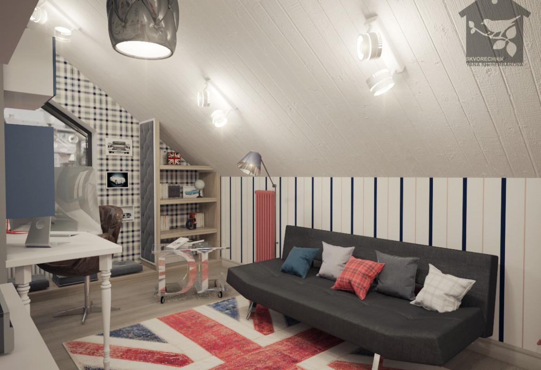 Дизайн комната для мальчика 8 лет